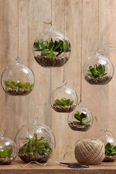 En pleine tendance du hand made, on voit de plus en plus d'idées DIY déco pour mettre en avant ses plantes vertes dans son...