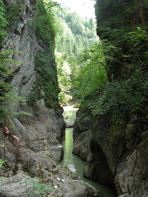 Gorges de la Jogne, Broc, Switzerland