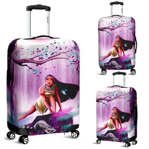 Ice Princess Luggage Cover