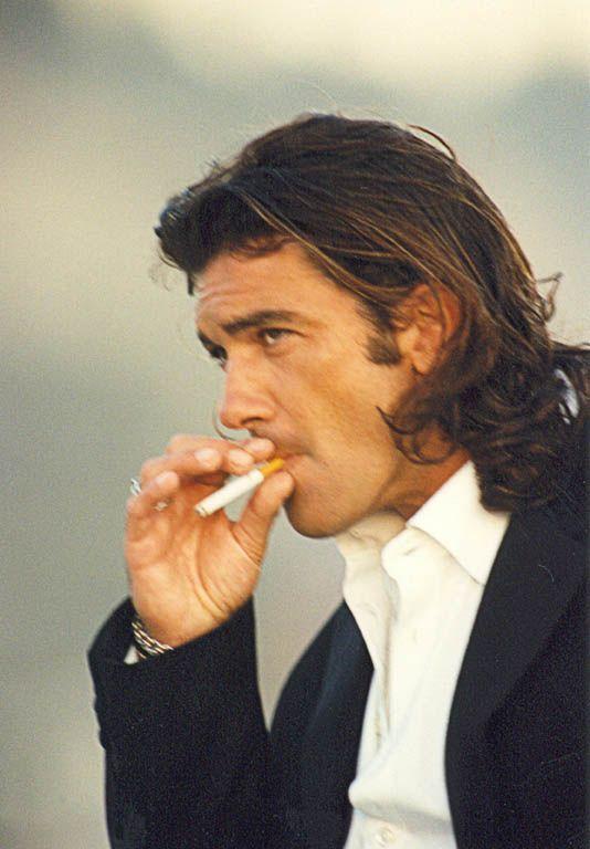 Young Antonio Banderas...smokinn hott!