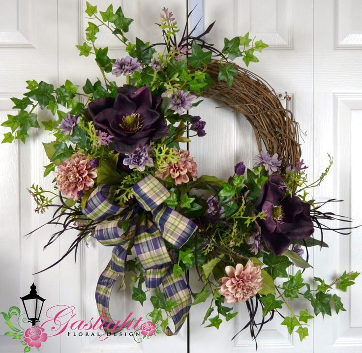 16 Enchanting Modern Entrance Designs That Boost The: Pin By Mary Richardson On Grapevine Wreaths
