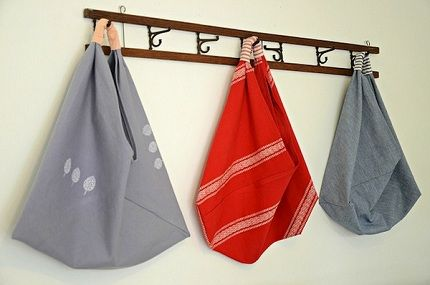 Tutorial: Origami Market Bag with boxed corners