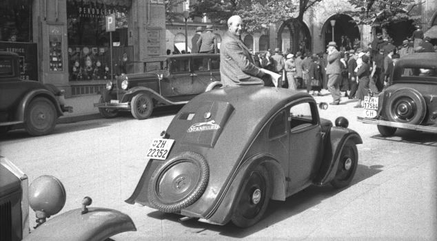 Bug's life: Josef Ganz and his design, which Adolf Hitler saw at a car show in 1933, not long before he made his sketches for Ferdinand Porsche