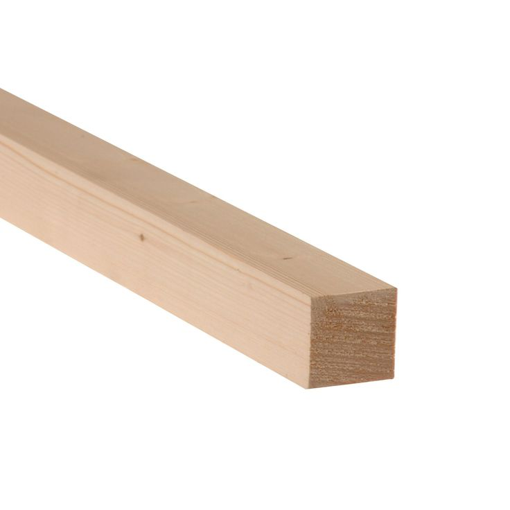 Smooth Planed Timber (T)34mm (W)34mm (L)1800mm Pack of 12 | Departments | DIY at B&Q
