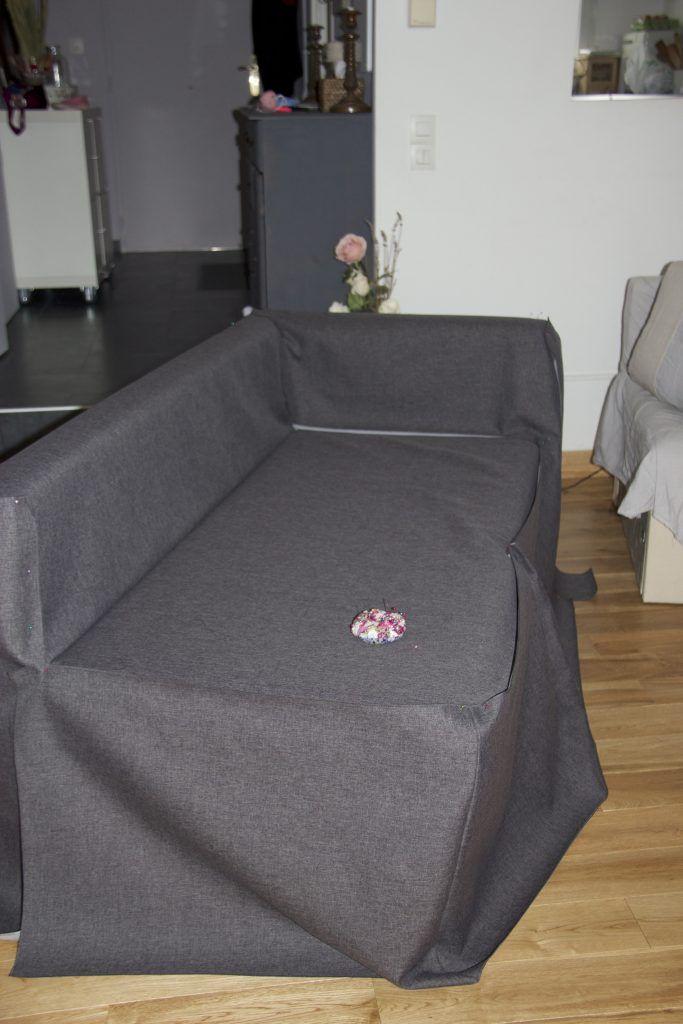 Une Housse Sur Mesure Pour Mon Canape D Angle Ikea La 4eme Est La Plus Belle Canape Angle Canape Angle Ikea Housse Canape Angle