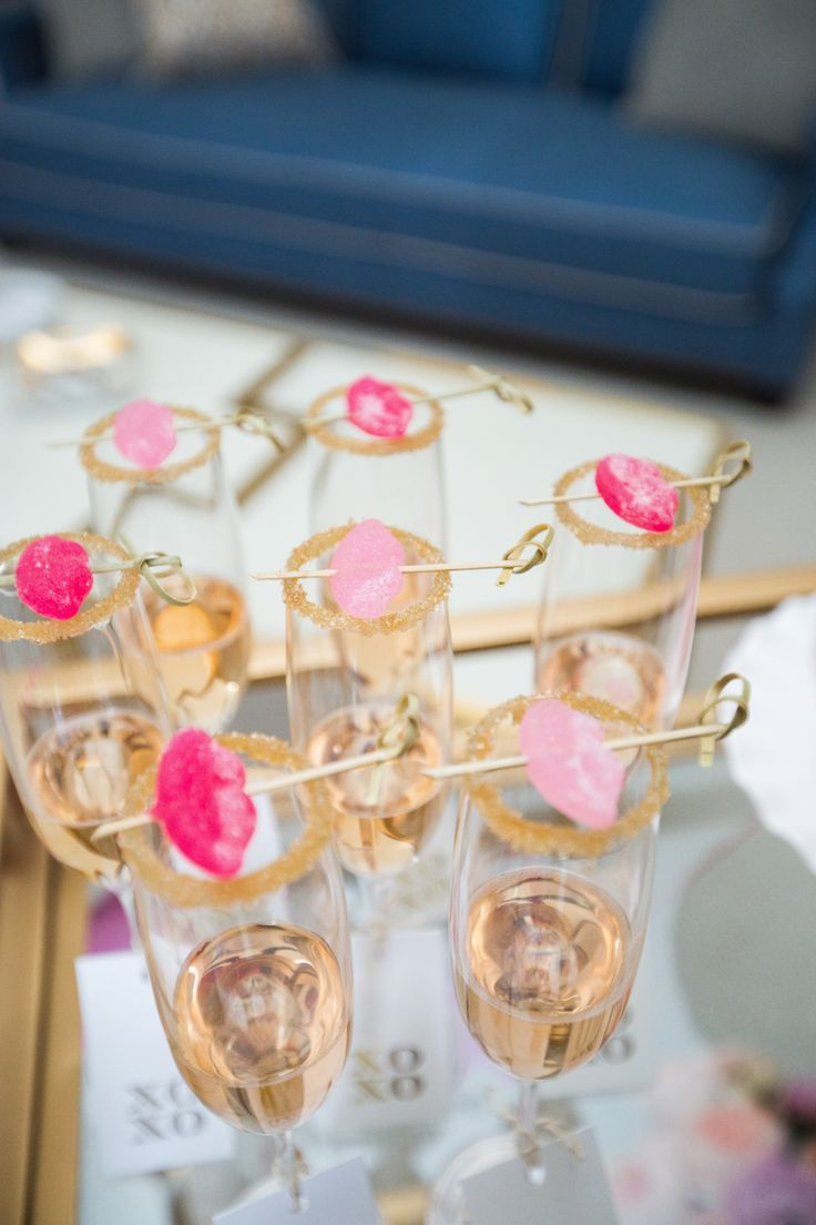 Valentine Cocktail Party Ideas Part - 28: We Love How @fashionablehostess Got Creative With Our Sugar Lip Candies To  Create The Perfect