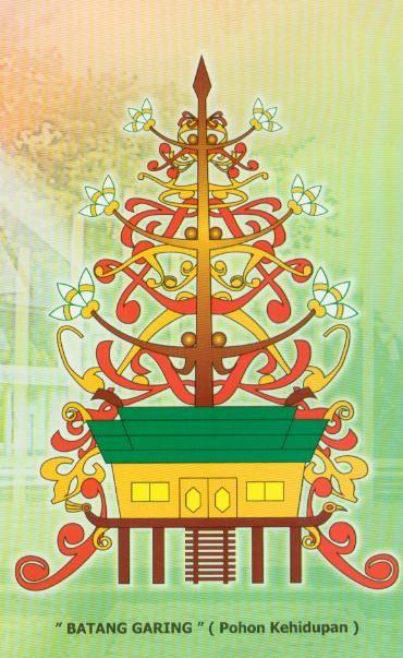 batang garing pohon kehidupan bagi masyarakat dayak