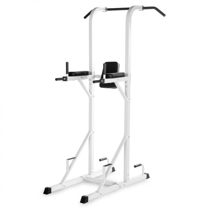 XMark Power Tower With Dip Station And Pull Up Bar XM-4434-white