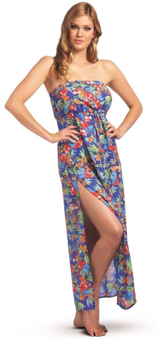 3346 Freya Acapulco Bandeau Maxi Dress. #beachwear  #blsummersizzlers