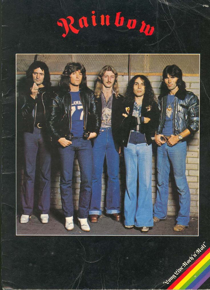 Rainbow were an English rock band formed by former Deep Purple guitarist Ritchie Blackmore in 1975. In addition to Blackmore, the band originally consisted of former Elf members; lead singer Ronnie James Dio (later to join Black Sabbath), keyboardist Mickey Lee Soule, bassist Craig Gruber, and drummer Gary Driscoll. Over the years Rainbow went through many lineup changes.