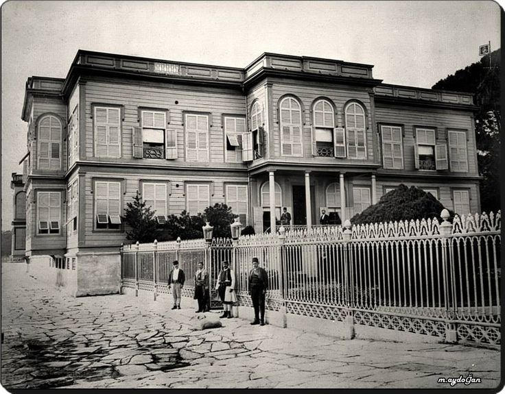 Emirgan / Karadağ Prensi'nin Sahilhanesi - 1884-86