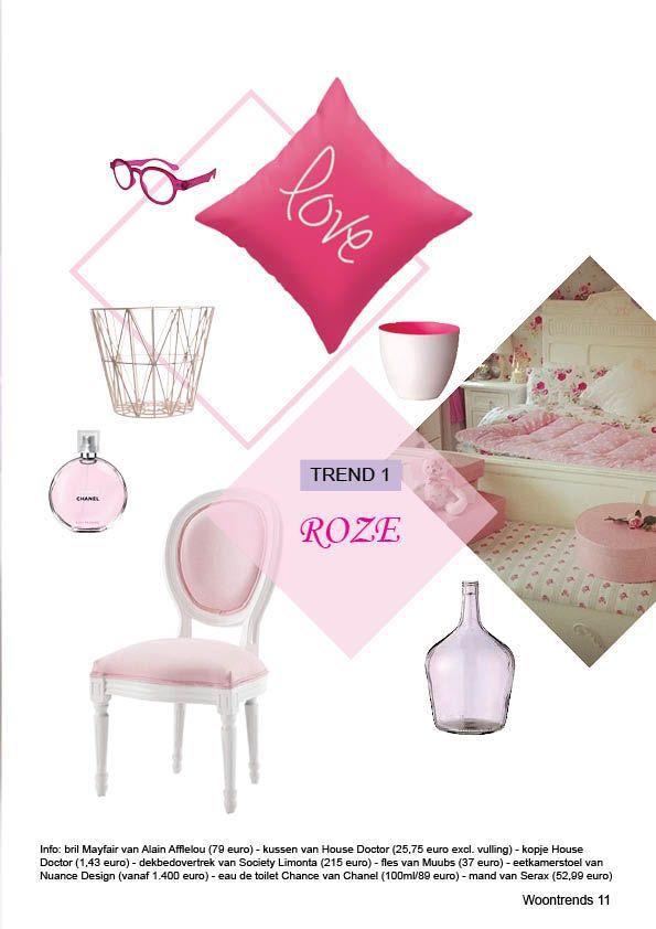 Leerjaar 2 Periode 3 Woontrend roze