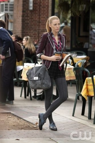 """""""The Townie"""" Gossip Girl Pictured Blake Lively as Serena Van Der Woodsen PHOTO CREDIT:  GIOVANNI RUFINO/ THE CW ©2010 THE CW NETWORK.  ALL RIGHTS RESERVED"""