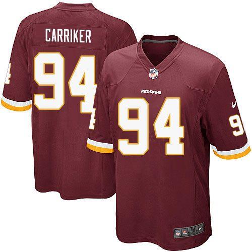 877bb145d Youth Nike Washington Redskins 94 Adam Carriker Limited Burgundy Red Team  Color NFL Jersey Sale New Nike Buccaneers ...