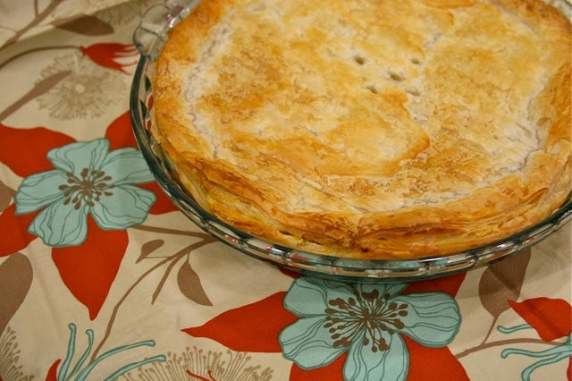 Thermomix Cooking - Chicken and Vegetable Pie.