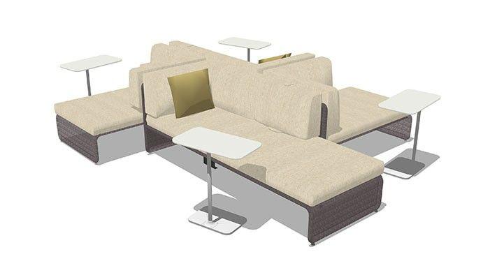 Lagunitas social 2 collaborative lounge coalesse for Office space design quarter