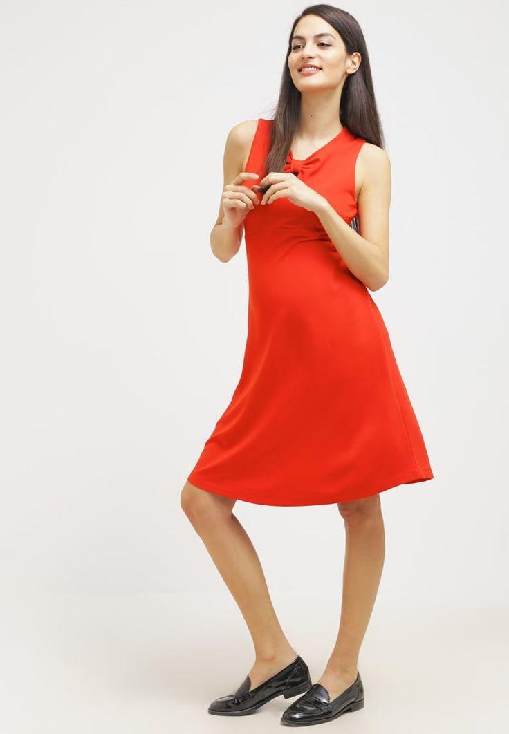 ¡Cómpralo ya!. mint&berry mom Vestido ligero fiery red. mint&berry mom Vestido ligero fiery red Ofertas   | Material exterior: 70% viscosa, 25% poliamida, 5% elastano | Ofertas  , vestidoinformal, casual, informales, informal, day, kleidcasual, vestidoinformal, robeinformelle, vestitoinformale, día. Vestido informal  de mujer color rojo de mint&berry mom.