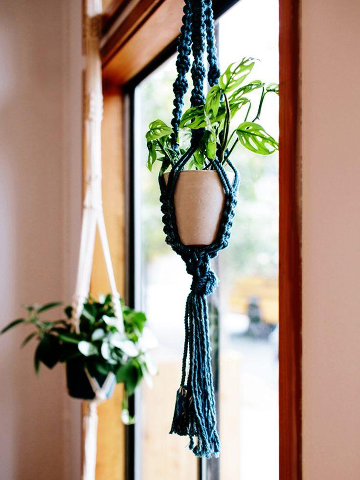 1000+ ide tentang Blumenampel Selber Machen di Pinterest - blumenampel selber machen hangekorb