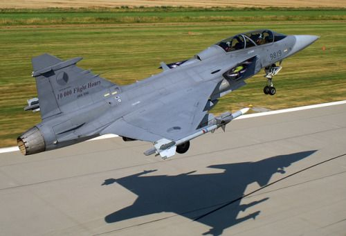 Wikipedia picture of the day on July 7 2017: Saab JAS-39 Gripen...