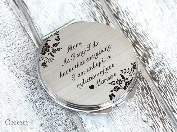Unique Wedding Gift Vintage Wedding Bridal Compact Mirror PICK YOU COLOR Vintage Wedding Gift