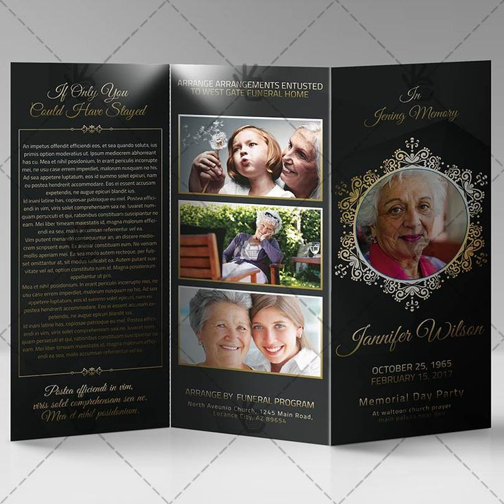 The 25+ best Funeral program template free ideas on Pinterest - microsoft brochure templates free download