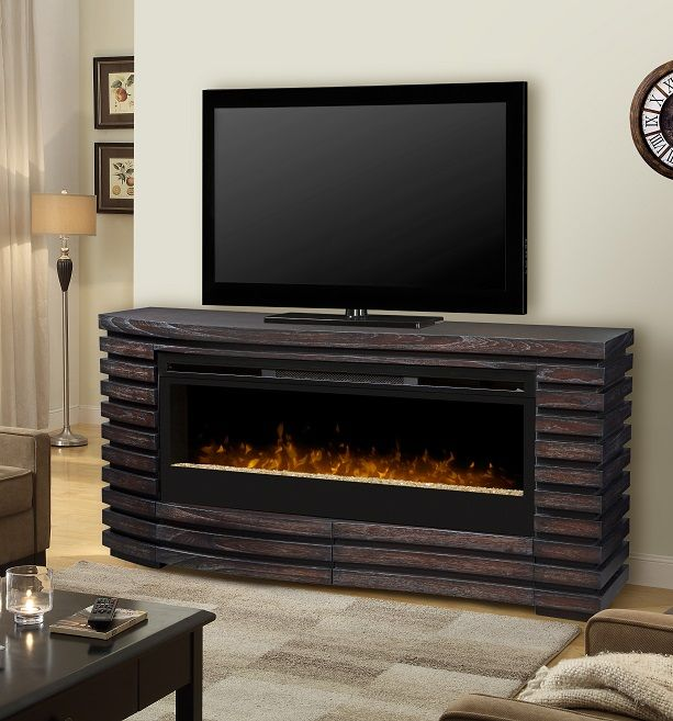 New Cabinet for Electric Fireplace Insert