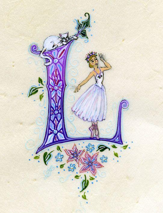 calligraphie, enluminure, art féerique, harpe celtique