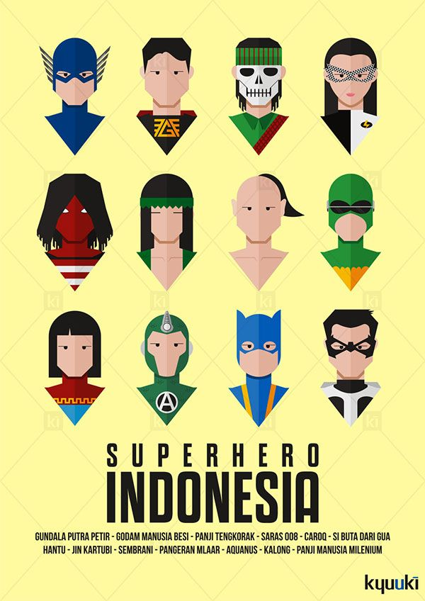 Indonesian Superhero Part 1