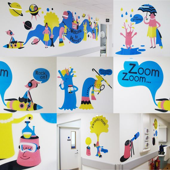 Commissioned by the Chelsea and Westminster Health Charity, design studio Thomas.Matthews has designed the look and feel of seven new wards with an overarching space theme at the Chelsea Children's Hospital (CCH) in London…