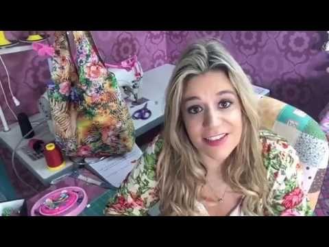 DIY::: Necessaire de Maquiagem - By Fê Atelier - YouTube