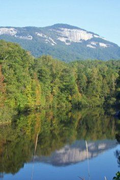 Take in the natural beauty at Table Rock State Park in South Carolina.