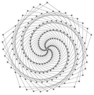 mathrecreation: triskelion spiral