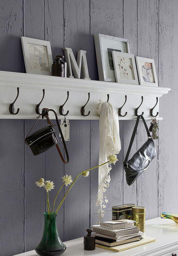 Eight-Hook Coat Rack
