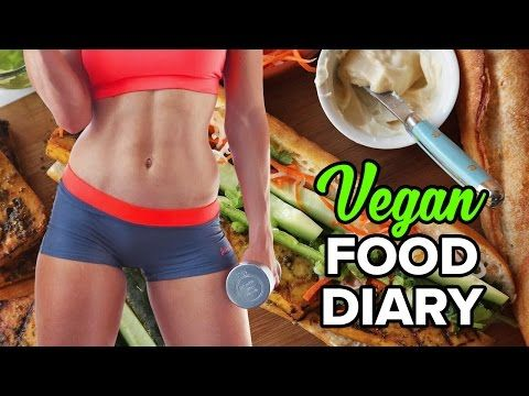 Food Diary w/ Calories Consumed and Burnt Through Exercise - YouTube