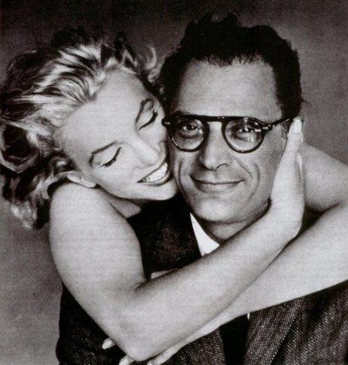 Marilyn and Arthur Miller by Avedon