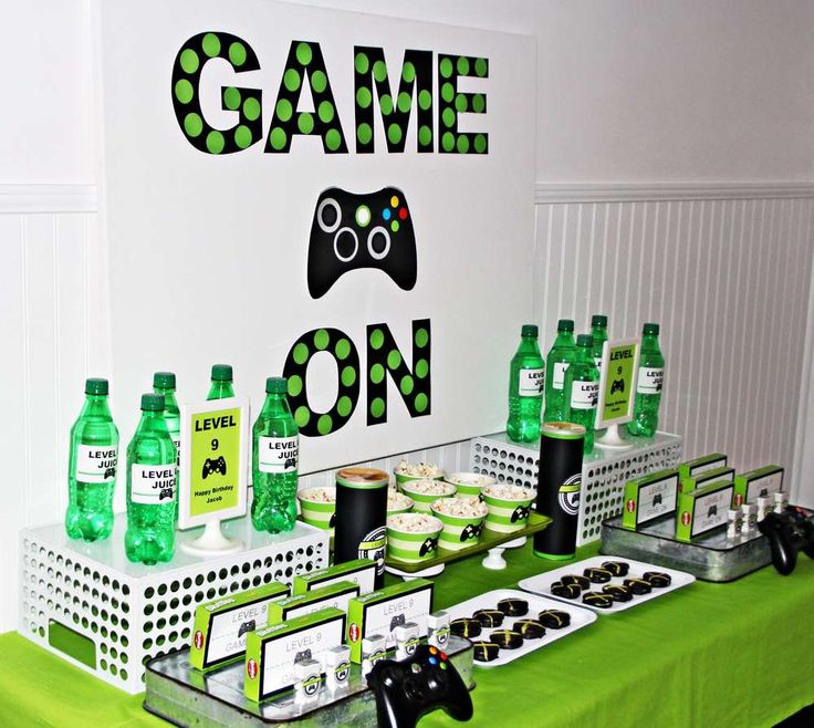 xbox Party Ideas