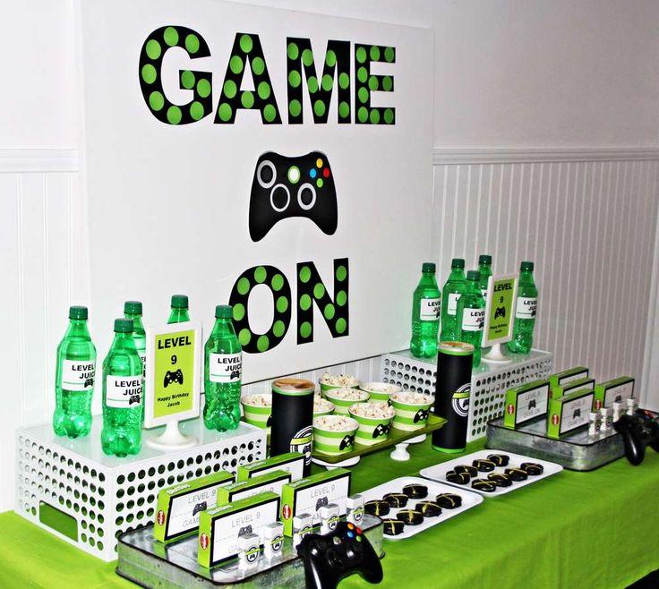 Xbox Party Food Ideas