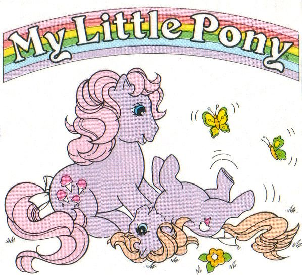 My Little Pony Sticker Book G1 - Close Up