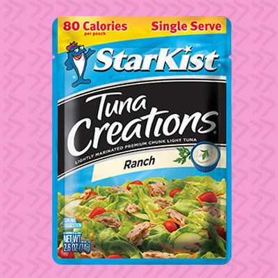 5 Healthy Supermarket Snacks for 3 SmartPoints or Less: StarKist Tuna Creations in Ranch, Sweet & Spicy, and Hot Buffalo Style