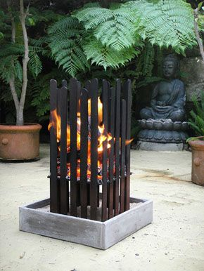 Fire Pits Outdoor Brassier