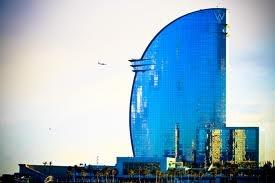 No Trade Center.   Barceloneta skyline