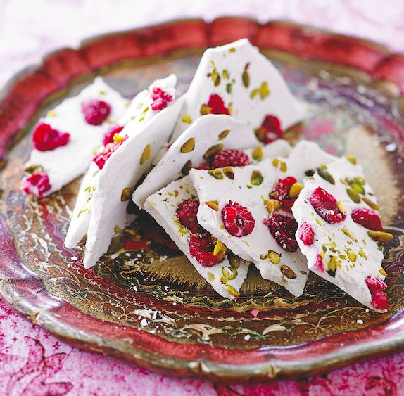 This coconut bark recipe is from Lee Holmes' Supercharged Food cookbook, 'Eat Right For Your Shape' which contains deliciously healthy Ayurvedic recipes.