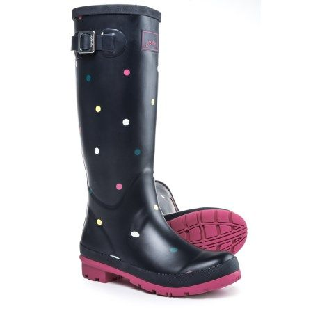 Joules Welly Print Rain Boots (For Women) - Save 47%
