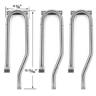 Grillpartszone- Grill Parts Store Canada - Get BBQ Parts,Grill Parts Canada: Duro Grill Burner   Replacement 3 Pack Stainless S...