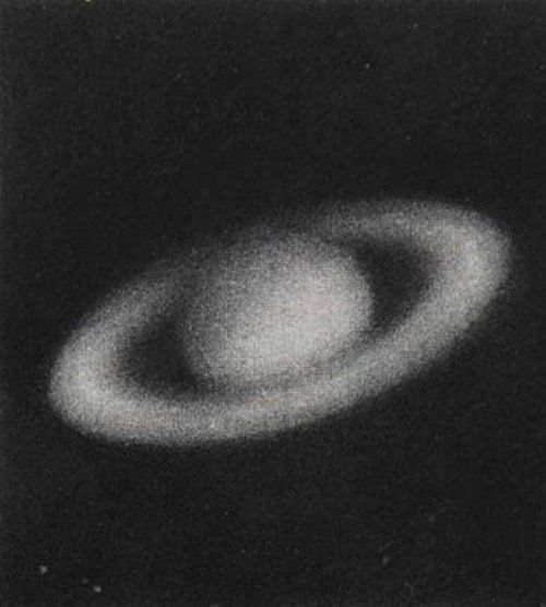 Saturn by Vija Celmins, 1985