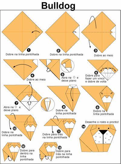 Aprenda a fazer origami de cachorro   Cachorro Blog