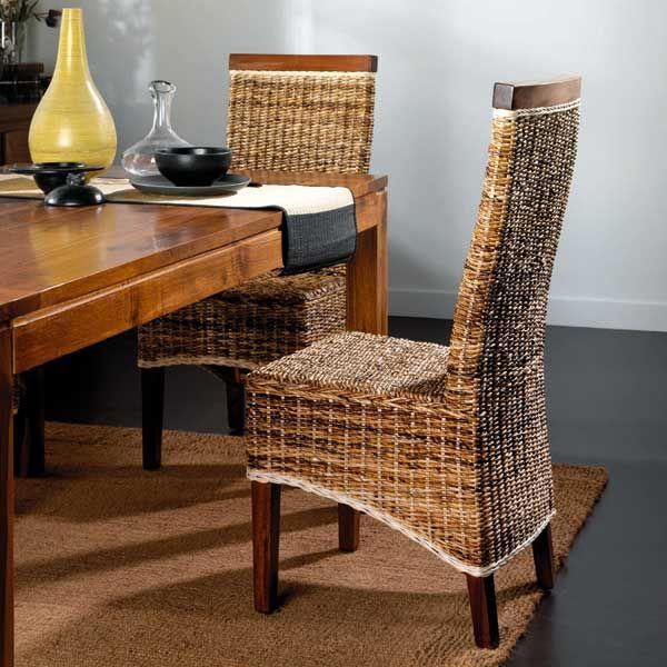 Silla abaca recta tapa madera in 2019 sillas sillas - Sillas para salones ...