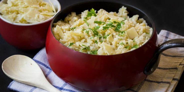 Parmesaani-risotto