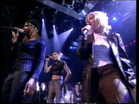 All Saints - Never Ever TOTP Christmas 1997 HQ