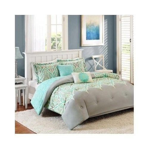 25 best ideas about aqua comforter on pinterest teal bedding teal bed covers and turquoise for Better homes and gardens bed in a bag